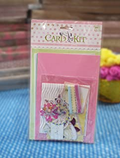 Buy asian hobby crafts skb018 card making kit by eno greeting asian hobby crafts skf034 diy mini card making kit by eno greeting floral m4hsunfo