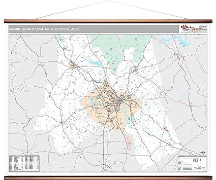 Amazon.com: Macon, GA Metro Area Wall Map - 2018 - ZIP Codes ... on map waycross ga, map albany ga, map of california inglewood ca, map i-75 in ga, map pulaski ga, map atlanta ga, map downtown augusta, map dallas ga, map nashville ga, map columbus ga, georgia map cities ga, map of abbeville georgia, map of georgia cities, map of ga, map athens ga, map douglasville ga 30134, georgia map augusta ga, map mcdonough ga, map boston ga, map dalton ga,
