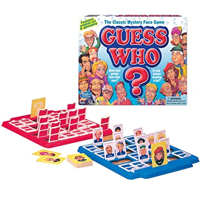 Winning Moves Games Guess Who? Board Game, Multicolor (1191): Toys & Games