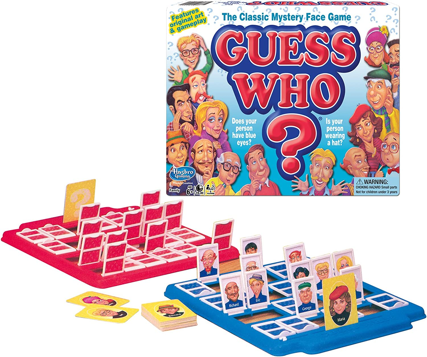 Guess Who Classic Childrens Board Game 2017 Edtion by Hasbro