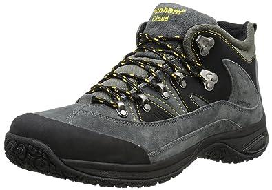Dunham Men's Cloud Mid Cut Waterproof Boot, Grey, 45.5 EU