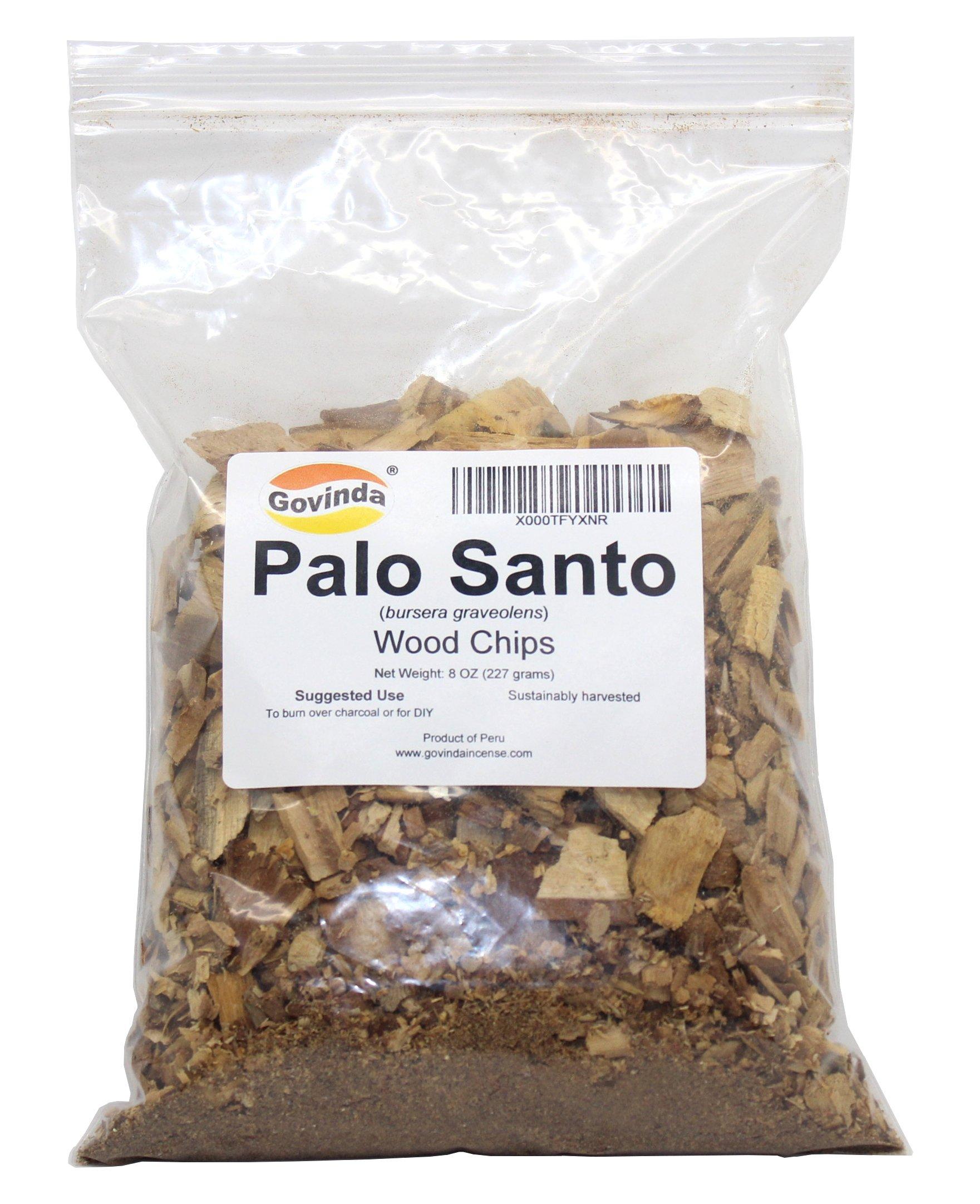 Govinda Palo Santo Wood Chips, 8 Oz