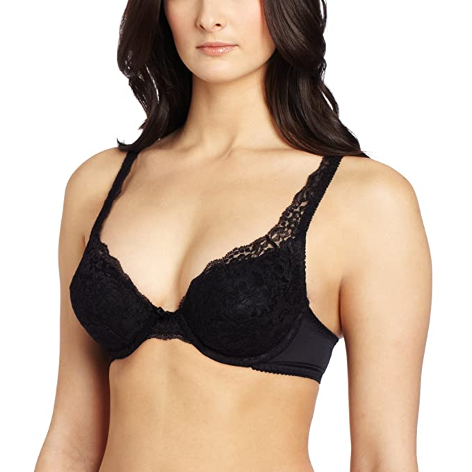 fdcb64cc66 Vassarette Women s Lace Padded Push Up Bra 75320  Amazon.ca ...