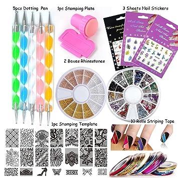 amazon com loveourhome nail art tools equipment nail stamping