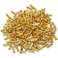 Onewiller 3.5mm Or Bullet connecteur batterie ESC Plug (lot de 20paires)