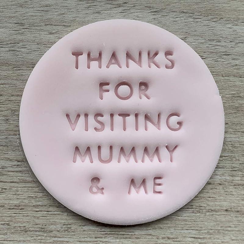 Je t/'aime maman gaufreuse//Timbre pour Fondant//Cupcake//Gâteau//cookie-MD19 ou Cutter