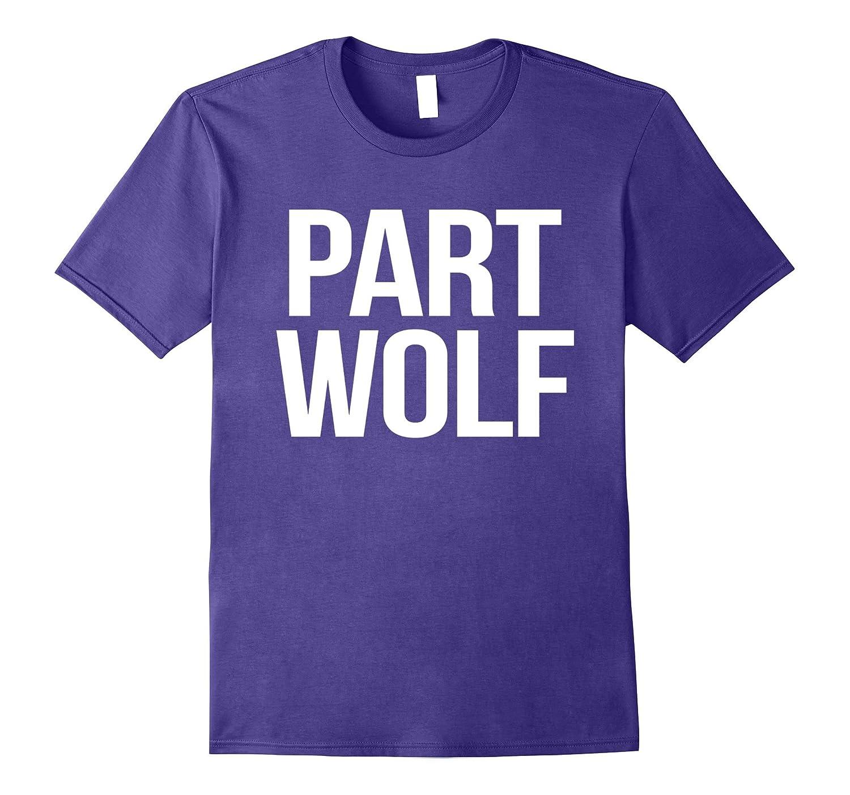 Crew Neck T-shirt| Part Wolf-FL