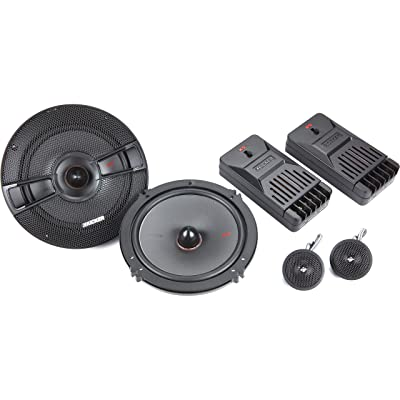 "Kicker KSS6504 KSS650 6.5"" Component System with 1"" tweeters 4-Ohm"