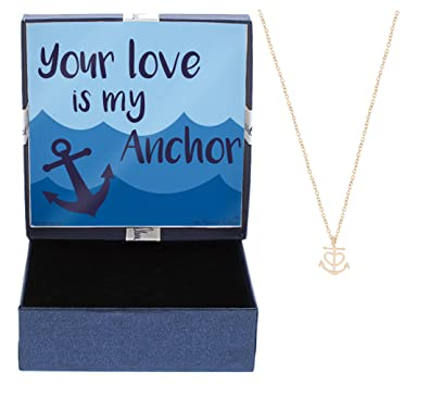 Amazoncom Mothers Day Gift Nautical Jewelry Your Love is My