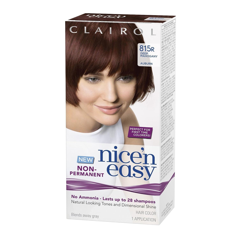 Amazon Clairol Nice N Easy Non Permanent Hair Color 815r Deep