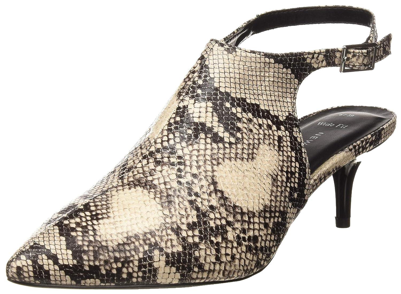 New Look Wide Foot Snake, Zapatos de tacón con Punta Cerrada para Mujer