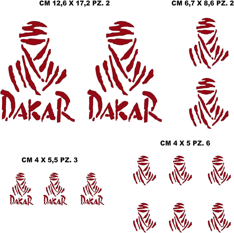010 BIANCO 1212 Kit Adesivi stickers compatibile DAKAR moto decal sponsor tecnici cod