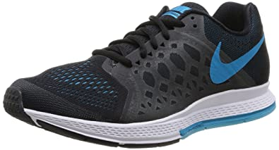 hot sale online 05f34 319e0 Nike Mens Zoom Pegasus 31, BlackBlue Lagoon-Clearwater-White, 7