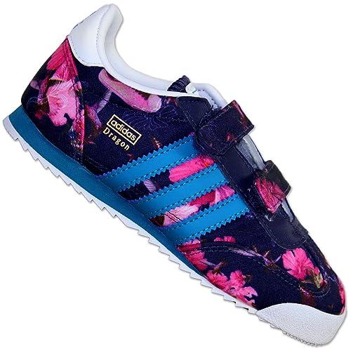 adidas Dragon CF C - Zapatillas para niño - Lila, Morado, 25.5 EU: Amazon.es: Zapatos y complementos