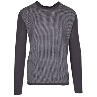 Armani Collezioni Men's Grey 100% Cashmere Pullover Knitwear Crewneck Sweater, EU 60 / US 4XL, Gray at Men's Clothing store