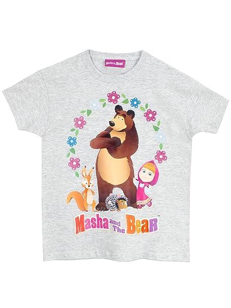 Masha y el Oso - Camiseta de manga corta - Masha y el Oso - para