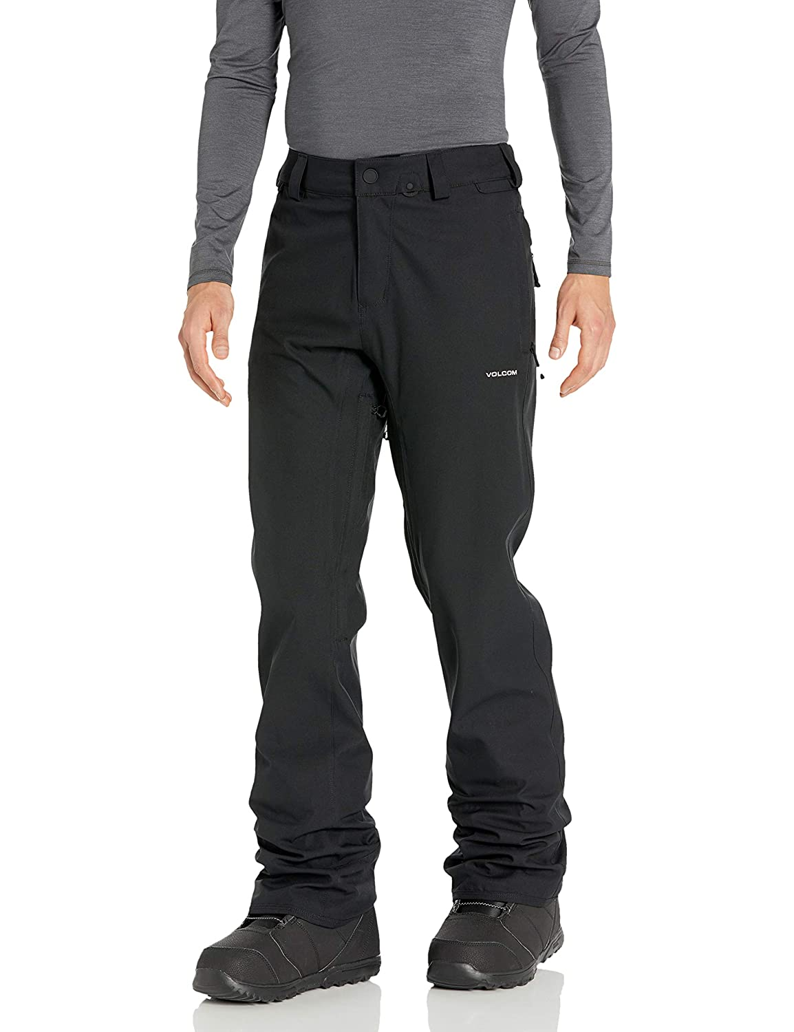 Volcom Mens Big Freakin Relaxed Fit Chino Style Snow Tall Pant