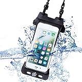 防水ケース iphone X SE 6 6s 7 8 IPX8認定 指紋認証対応 完全防水 Sweetleaff (iphone6/6s/7/8)