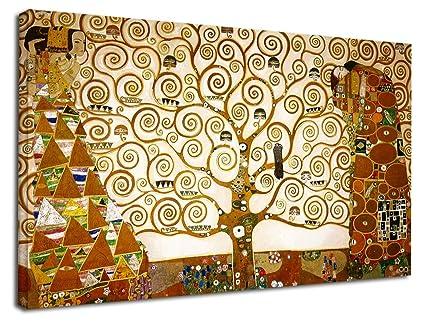 Cuadro Klimt El árbol De La Vida Gustav Klimt The Tree Of Life