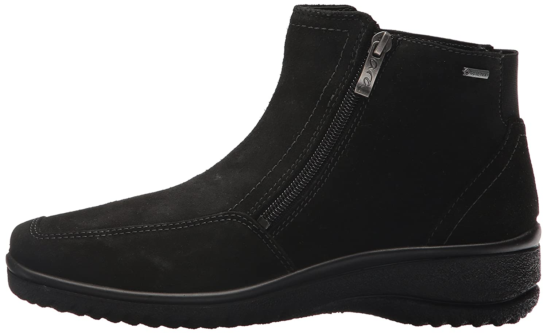 ara Women's Mila Ankle Boot B06XHRFCY8 9 B(M) US|Black Suede