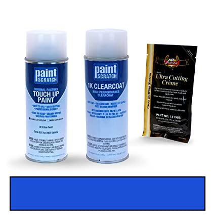 PAINTSCRATCH W R Blue Pearl 02C for 2003 Subaru WRX - Touch Up Paint Spray Can Kit