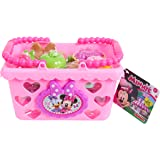 Just Play Minnie Bow Tique Bowtastic Shopping Basket Set