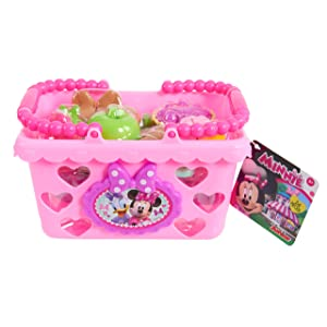 Minnie Bow Tique Bowtastic Shopping Basket Set, Pink