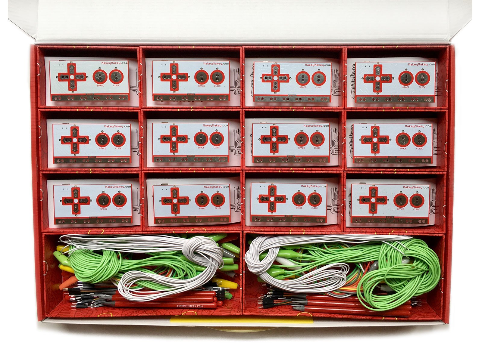 Makey Makey Stem Pack - Classroom Invention Literacy Kit, Red by Makey Makey (Image #3)