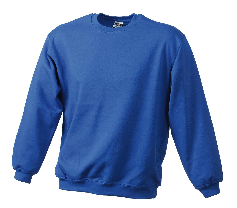 James & Nicholson Sweatshirt Round Heavy Üg Sudadera para Hombre