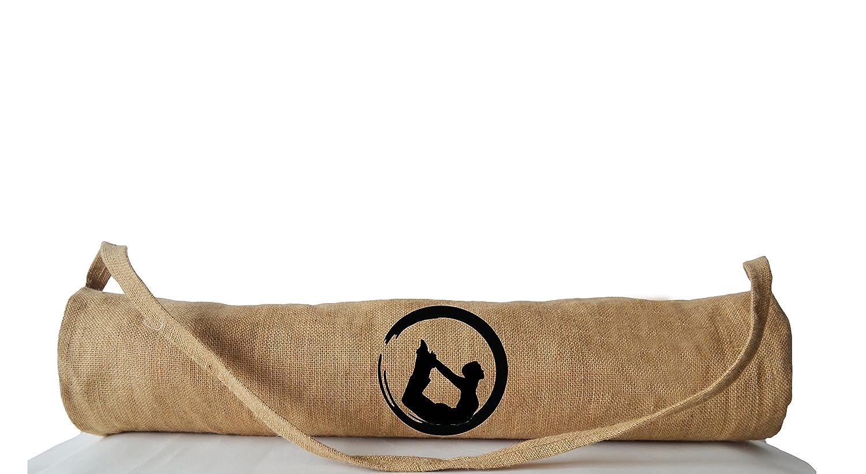 Amore Beaute hecho a mano Yoga Mat bolsas con Yoga Pose ...