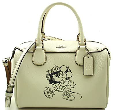 747507ce437 Image Unavailable. Image not available for. Color: MINI BENNETT SATCHEL  WITH MINNIE MOUSE MOTIF (COACH F29356), CHALK
