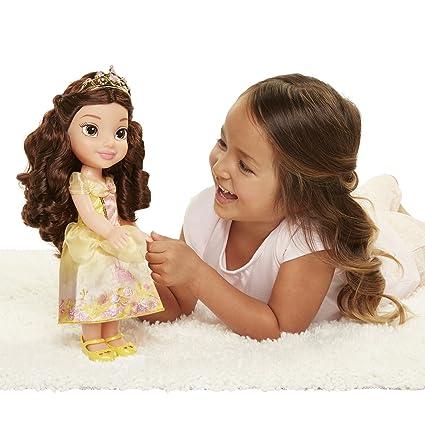 91141977cb035 Amazon.com: Disney Princess Explore Your World Belle Doll Large ...