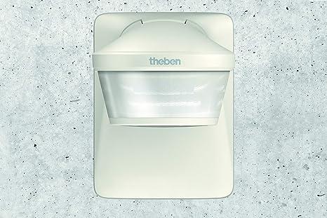 Theben 1010605 - Detector montaje superficie techo theluxa p220 wh: Amazon.es: Bricolaje y herramientas