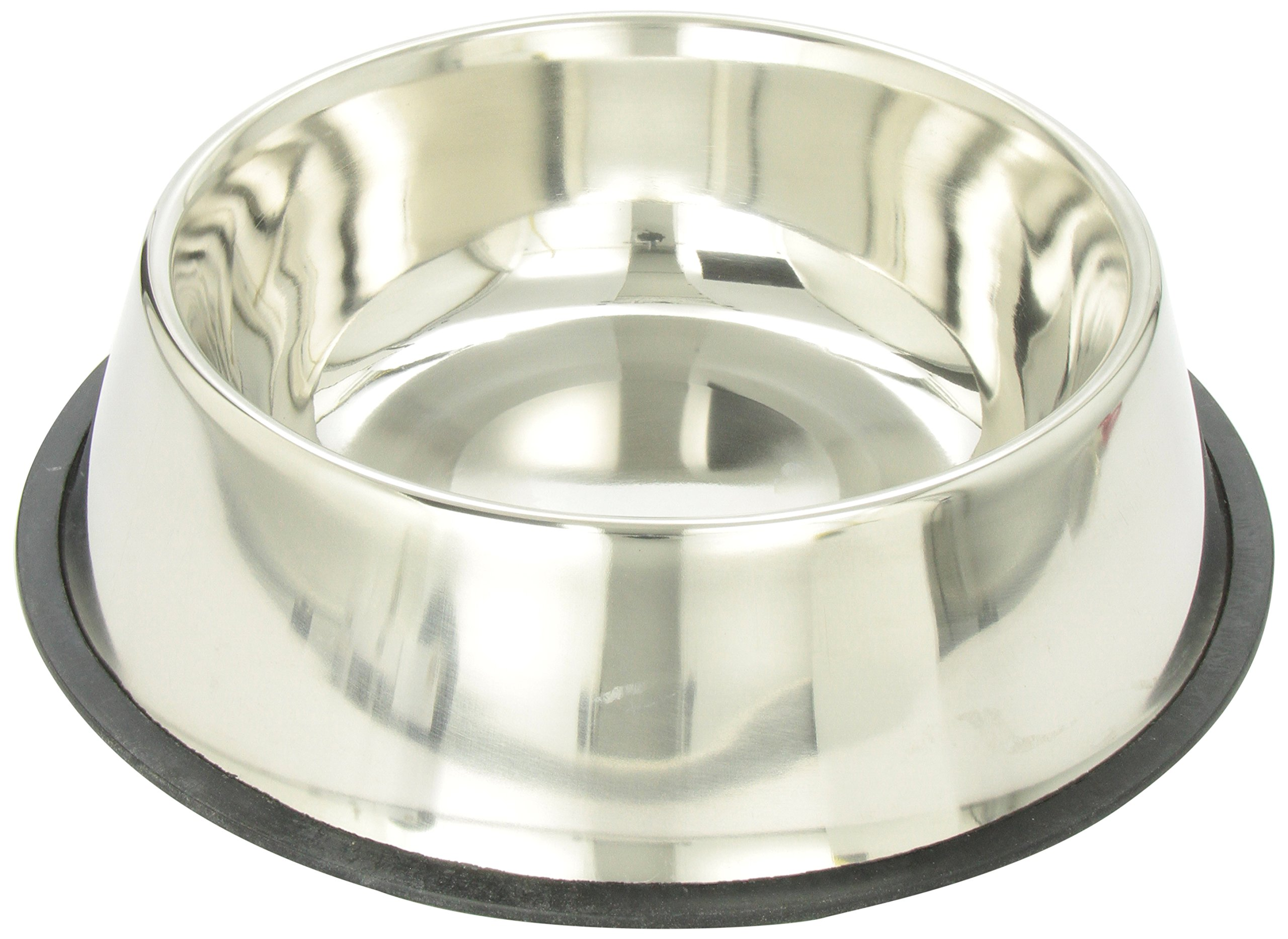 Ethical 160-Ounce No-Tip Stainless Dish