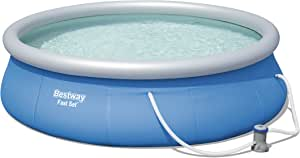 Bestway Fast Set Piscina Desmontable Autoportante, 396x84 cm ...