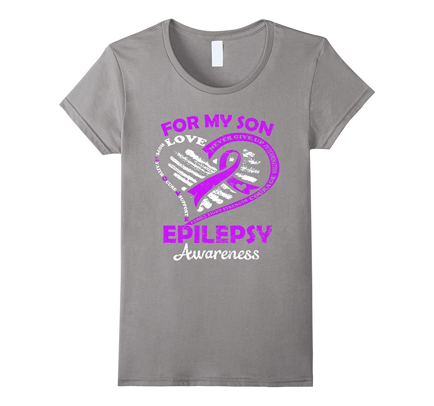 For my son epilepsy awareness t shirt