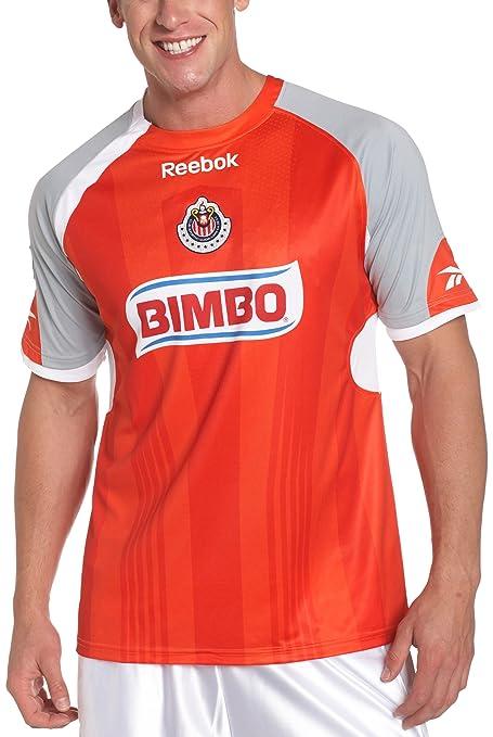 60b4881af78 Amazon.com   Chivas De Guadalajara Short Sleeve Away Soccer Jersey ...