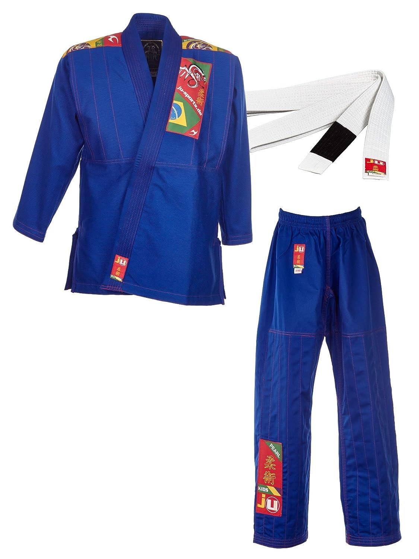 BJJ-Anzug Kids blau B018KLJNHQ Sets Ausgezeichnete Leistung