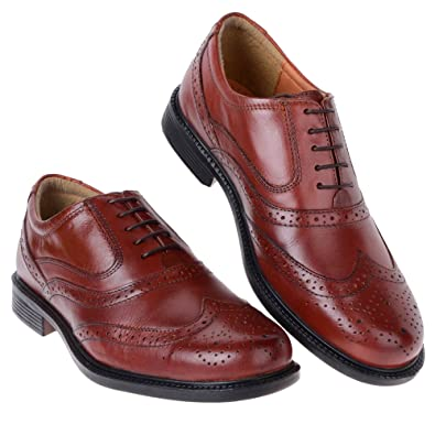 331748dff0ee9 Thomas Brooks Mens Burnish Tan Leather Oxford Brogue Smart Shoe in Size 9:  Amazon.co.uk: Shoes & Bags