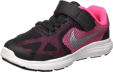 NIKE Revolution 3 (PSV), Zapatillas para Niñas: Amazon.es: Zapatos y complementos