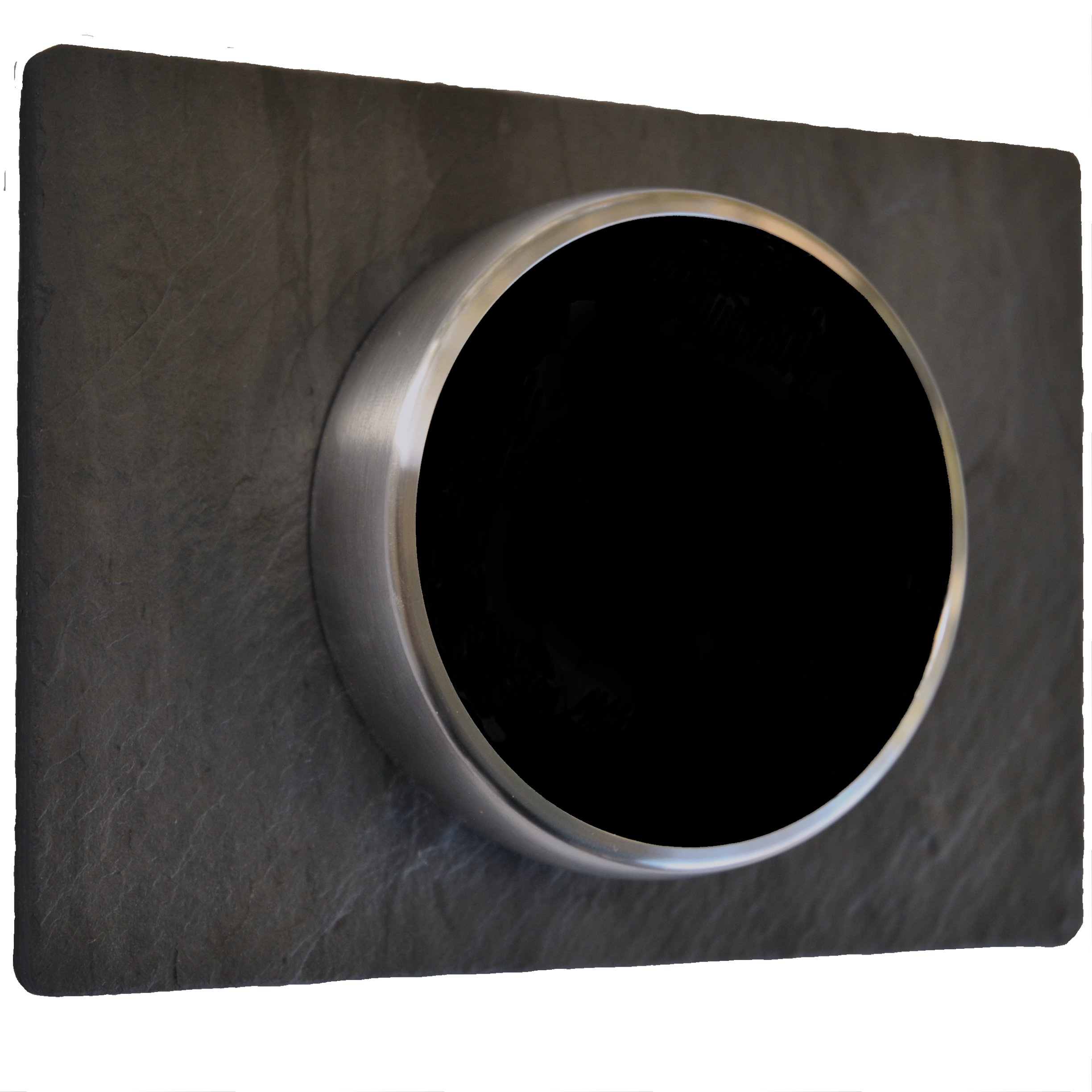 Nest Wall Plate Trim Cover - Slate Stone (6 x 4 7/16 Inches)