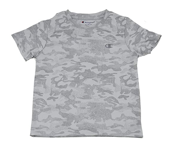e69688f5e Image Unavailable. Image not available for. Color: Champion Authentic Boys  Size 4 Short Sleeve Athletic Shirt ...