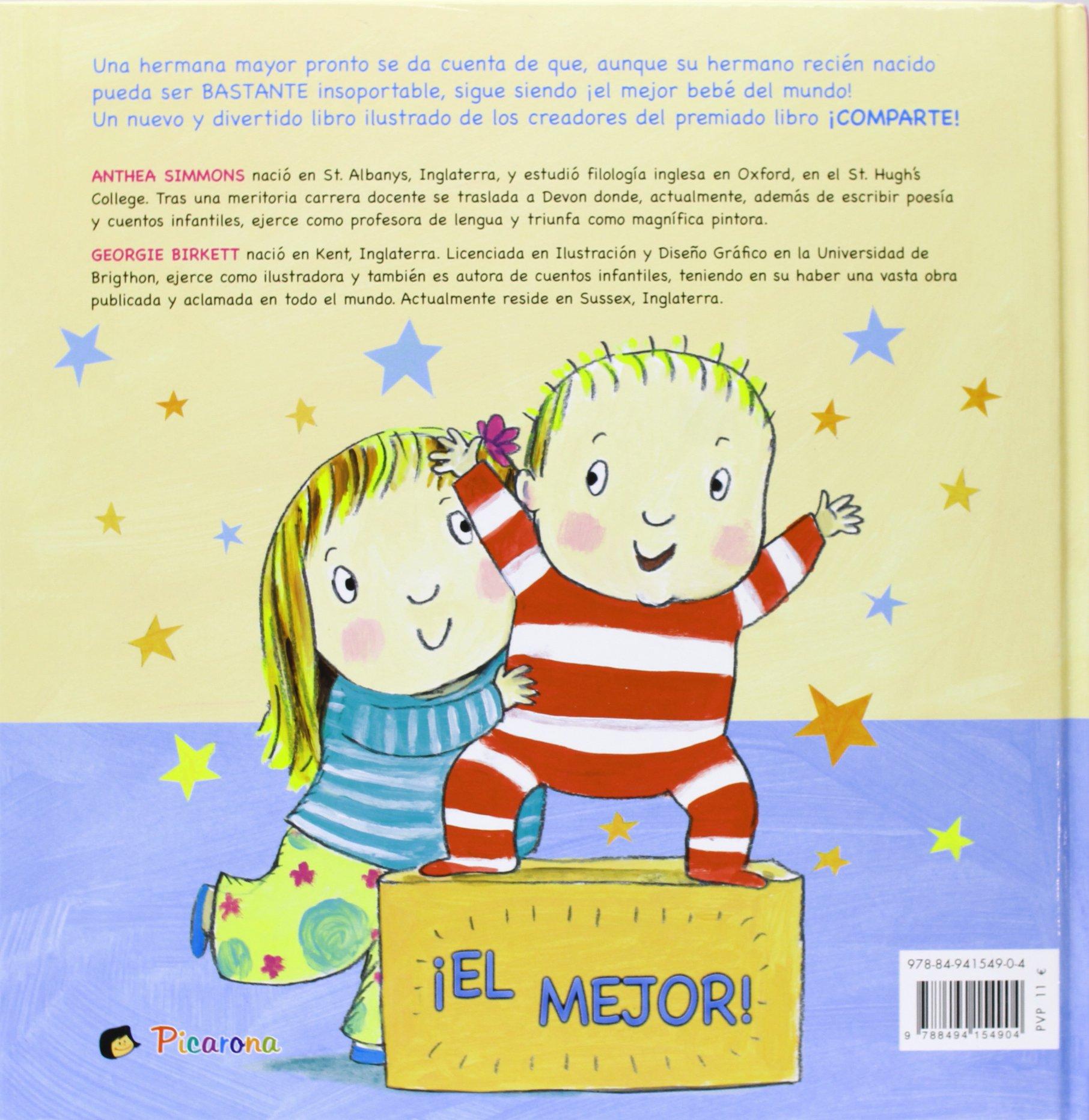 Mejor bebe del mundo!, El (Spanish Edition): Anthea Simmons ...