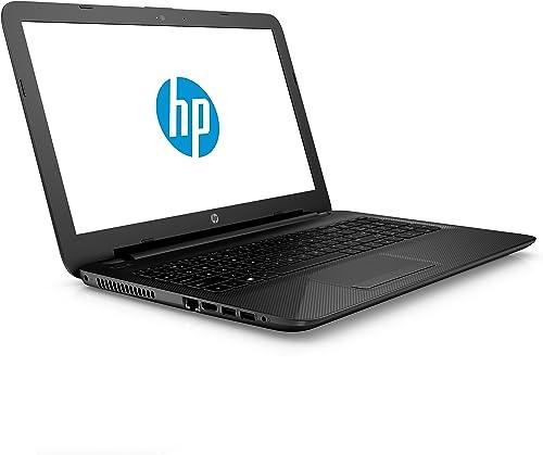 HP Laptop 15 af118ng 39 6 cm 15 6 Zoll FHD Laptop AMD A6 Serie APU 1 TB HDD 4 GB RAM AMD Radeon TM 8400 Windows 10 schwarz