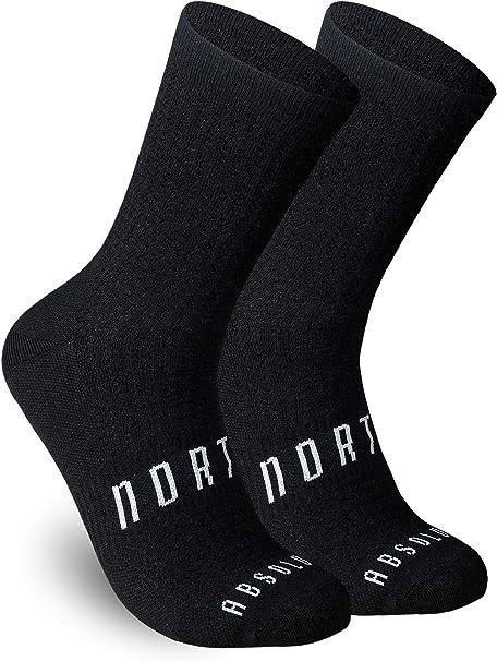 Calcetines Negros para Ciclismo, MTB y Running de Caña Alta para Hombre y Mujer – Absolute Black: Amazon.es: Deportes y aire libre