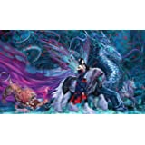 Artistes de Magic Premium tapis de jeu: RIDE de YOKAI w/illustrations par RUTH THOMPSON