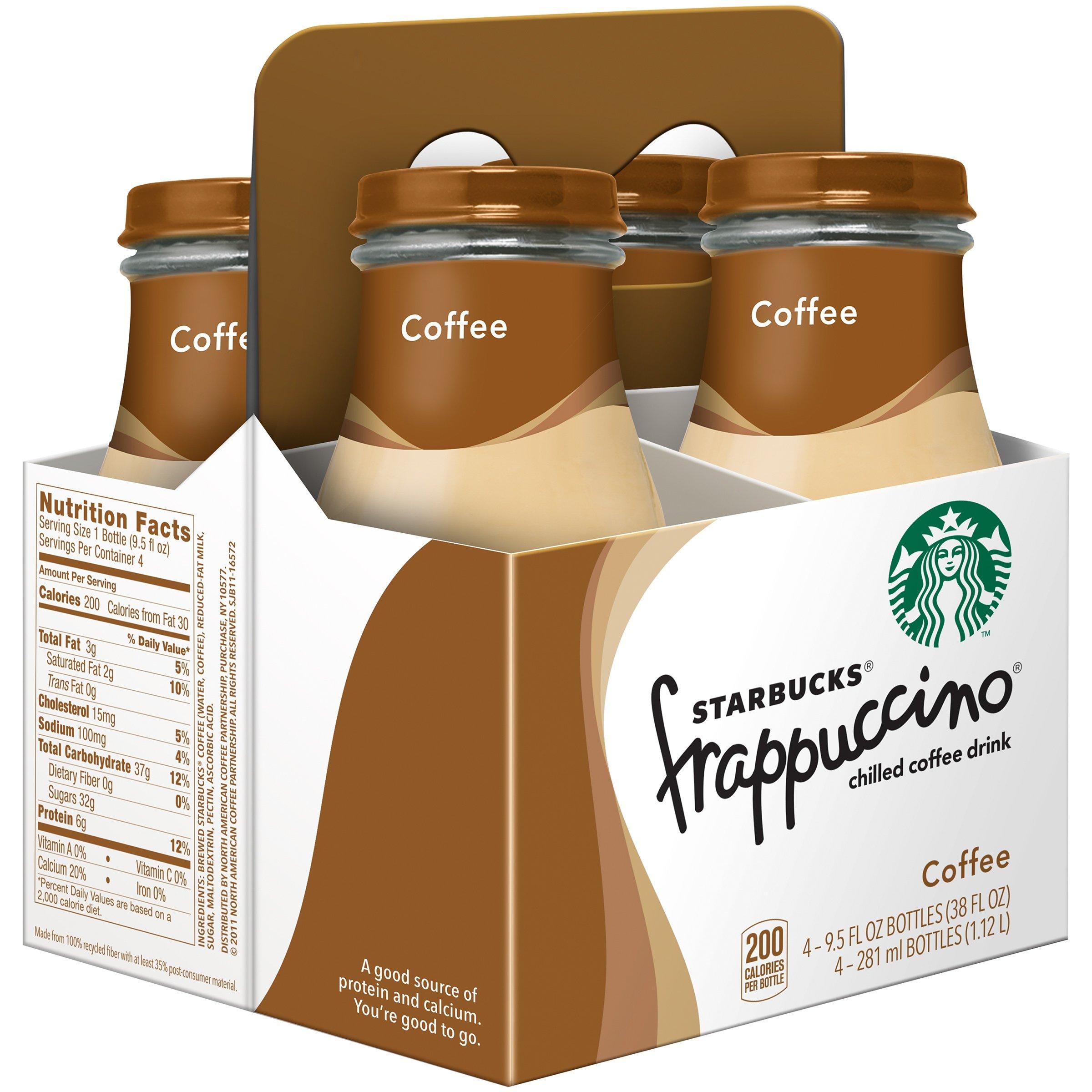Starbucks Coffee Frappuccino Variety Pack! Mocha Light, Coffee, Chilled Mocha, 9.5 oz Glass Bottles (Pack of 3, Total of 12 Glass Bottles) by Starbucks Coffee Frappuccino (Image #3)