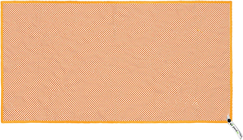 antibakteriell /& schnelltrocknend alle Gr/ö/ßen und 5 Farben extrem saugf/ähig Besser als herk/ömmliche Mikrofaser Reise- pandoo Bambus Reisehandtuch Ultraleicht Trekking- /& Badetuch Sport-