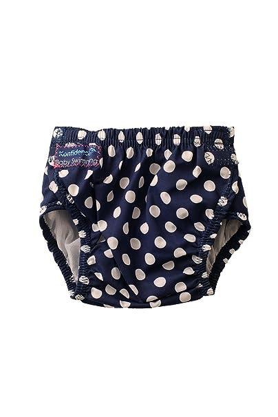 57e688416 Konfidence pañal Bañador aquawindel Bañador para bebé 3 - 30 Meses Diseño  Blue Polka Dot  Amazon.es  Ropa y accesorios