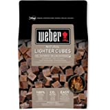 Weber Eco-Friendly Firelighters Pack of 48, Brown, 38x 17x 5cm, 17612